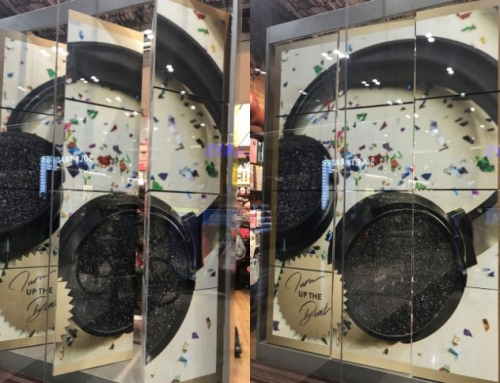 Printed Ferrous for Retail Magnetic Display