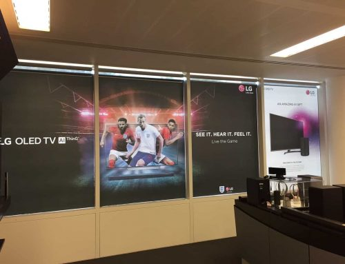 Head Office Showroom Graphics Refit